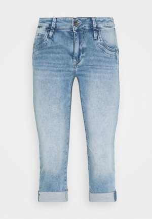 ALMA - Jeansshorts - light-blue denim