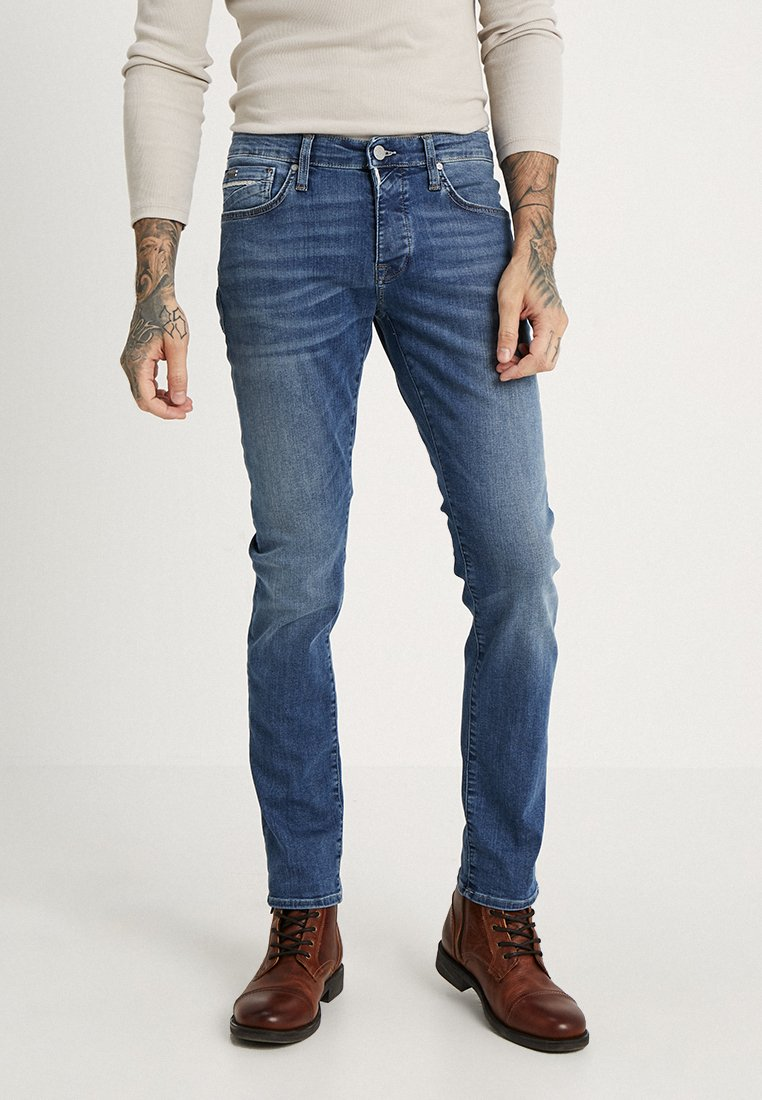 Mavi - YVES - Jeans slim fit - mid brushed ultra move