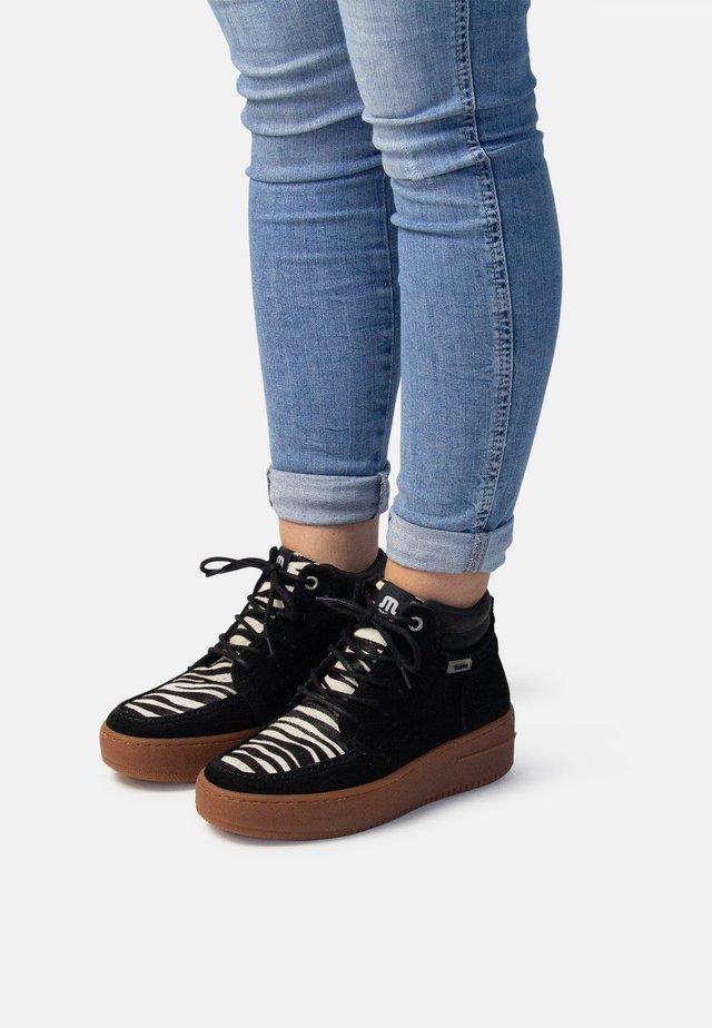 VANCY - Lace-up ankle boots - black