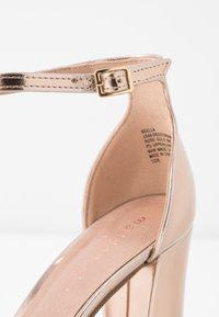 Madden Girl - BEELLA - Sandaler med høye hæler - rose gold - 2