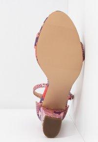 Madden Girl - BEELLA - Sandaler med høye hæler - red/multicolor - 6