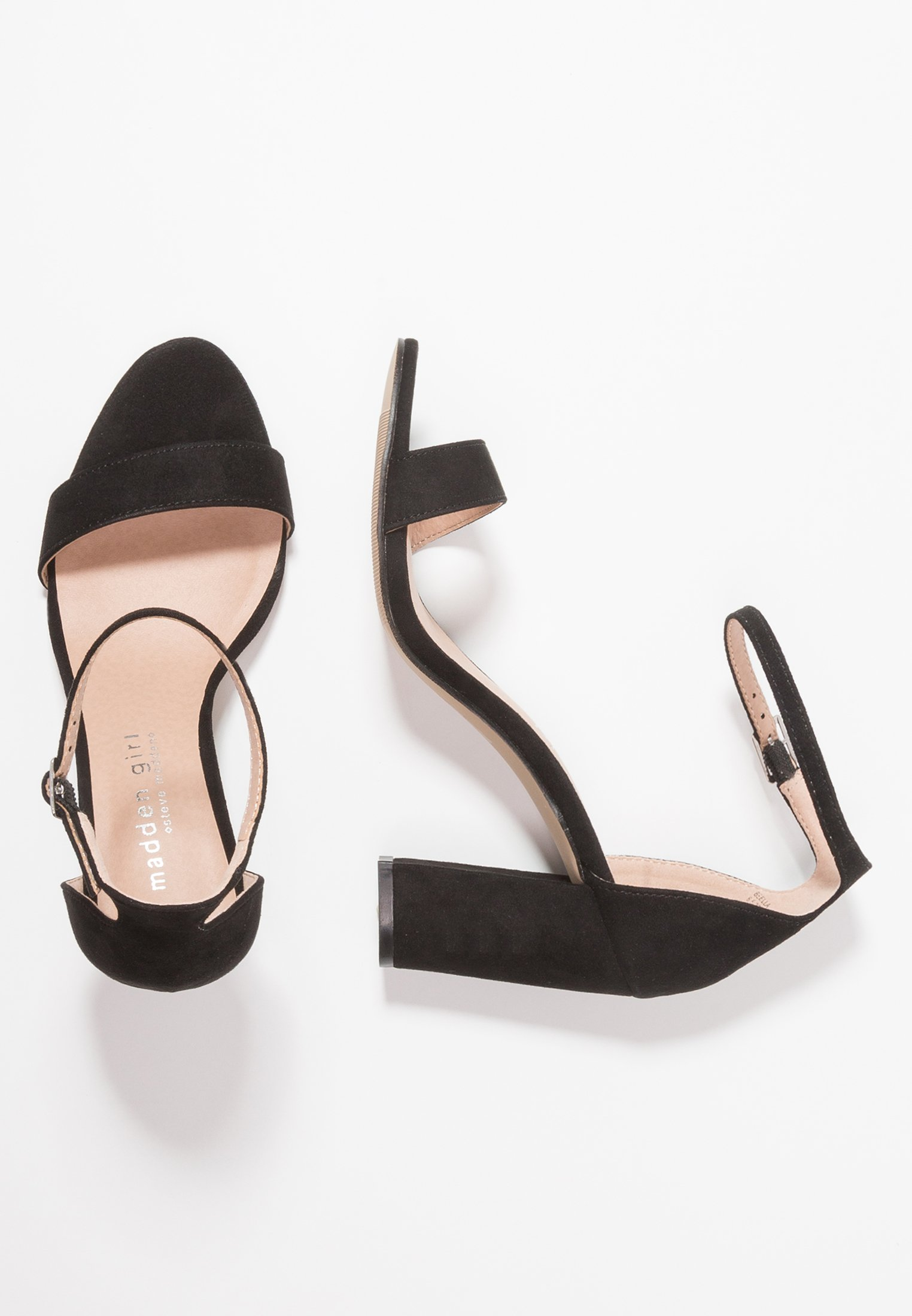 Madden Girl BEELLA - Højhælede sandaletter / Højhælede sandaler - black
