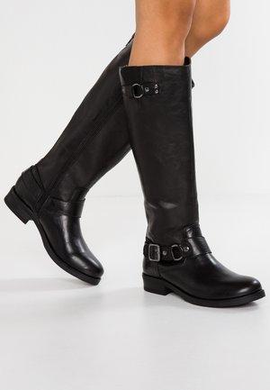 FAYETTE - Cowboy/Biker boots - black paris