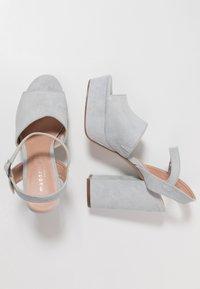 Madden Girl - GAARDEN - Højhælede sandaletter / Højhælede sandaler - dusty blue - 3