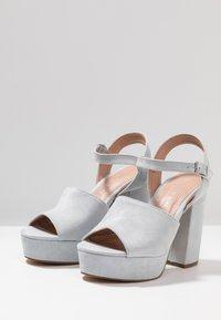 Madden Girl - GAARDEN - Højhælede sandaletter / Højhælede sandaler - dusty blue - 4