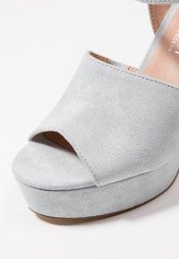 Madden Girl - GAARDEN - Højhælede sandaletter / Højhælede sandaler - dusty blue - 2