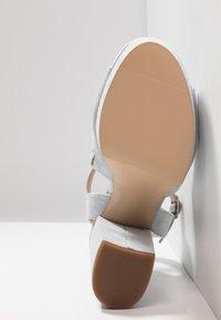 Madden Girl - GAARDEN - Højhælede sandaletter / Højhælede sandaler - dusty blue - 6