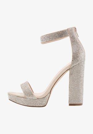 SIREN - High Heel Sandalette - blush