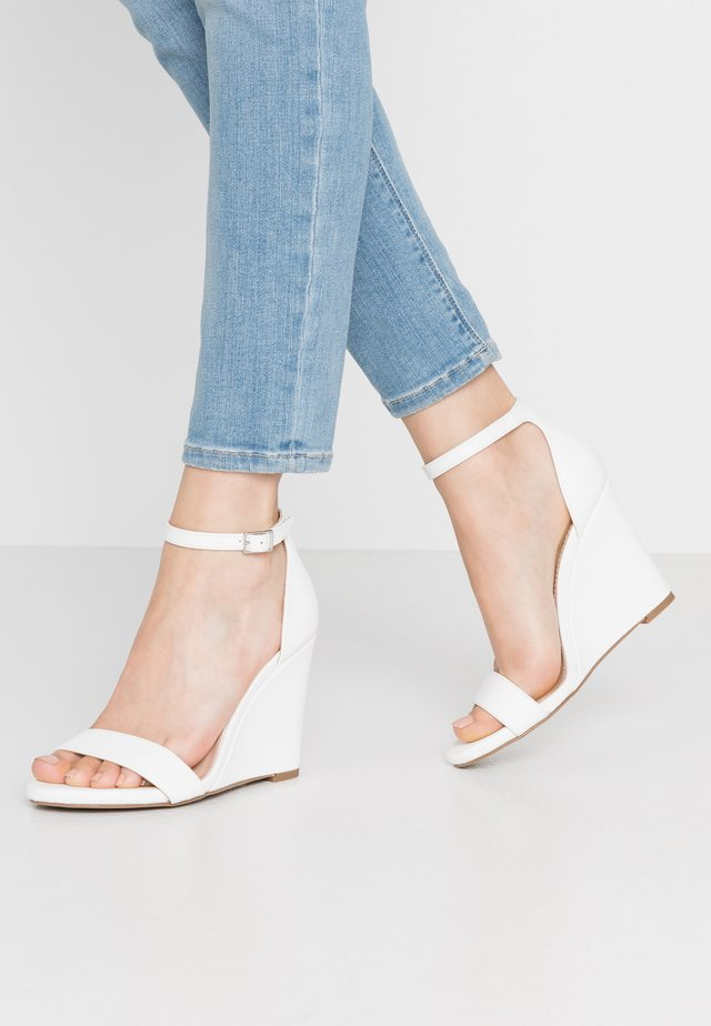 WILLOOW  - High heeled sandals - white paris