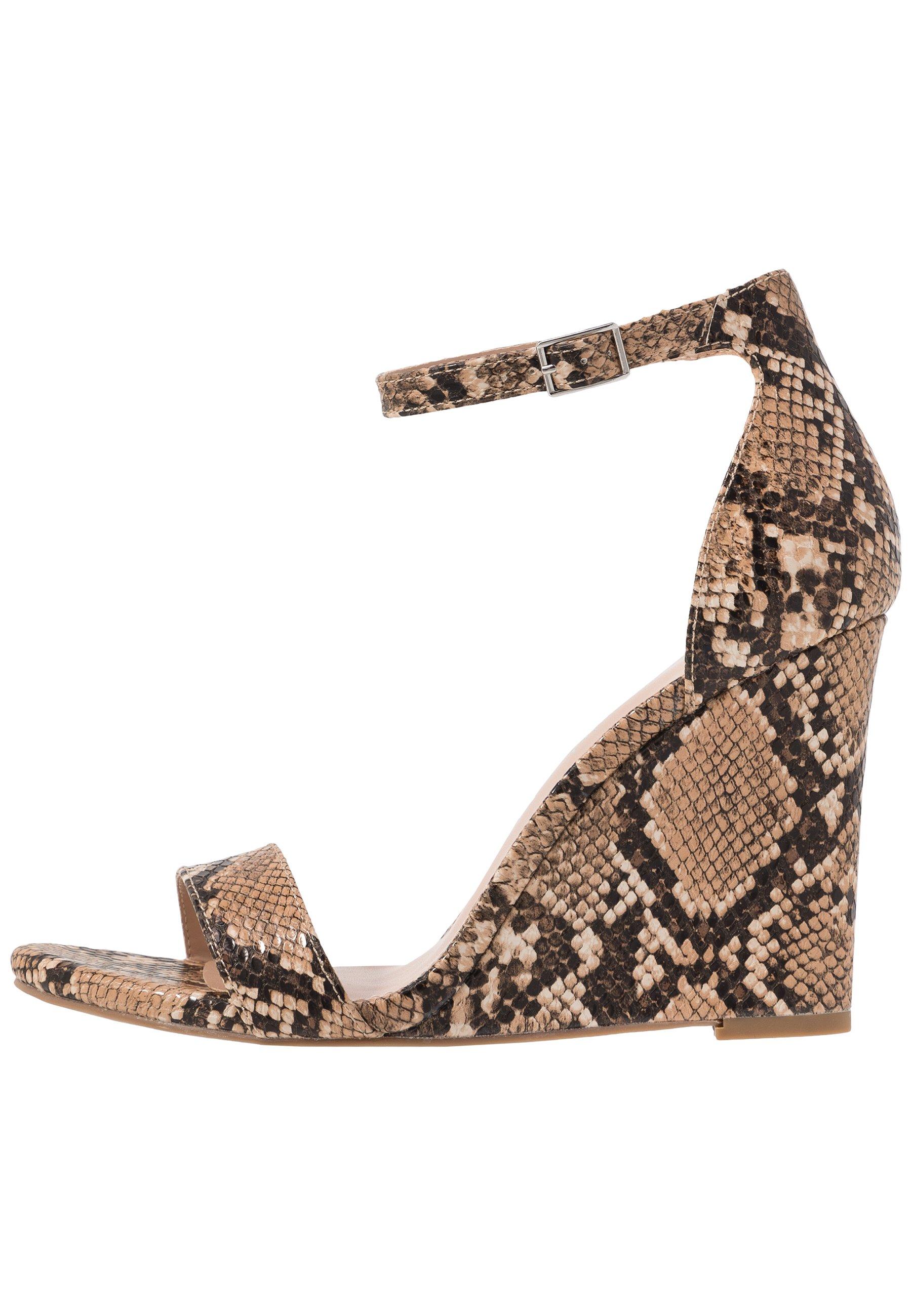 Madden Girl WILLOOW - Højhælede sandaletter / Højhælede sandaler - brown