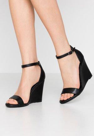 WILLOOW - Højhælede sandaletter / Højhælede sandaler - black