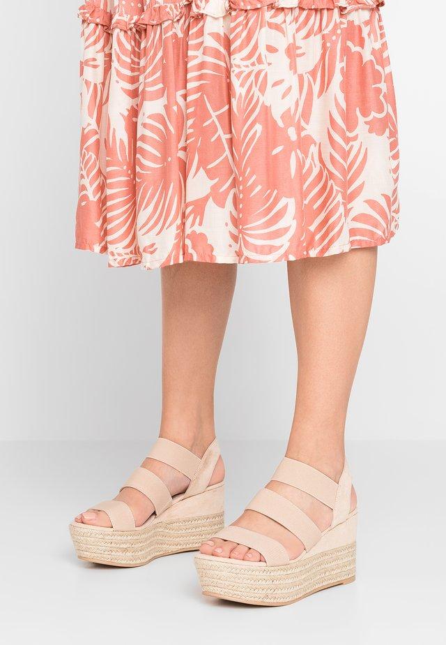 CAPEE - Sandalen met hoge hak - nude