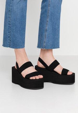 KEELI - Sandály na vysokém podpatku - black