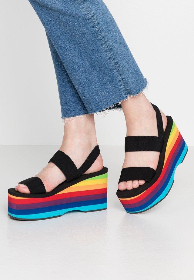KEELI - Sandalen met hoge hak - multicolor