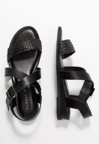 Madden Girl - CIARA - Sandaletter med kilklack - black - 3