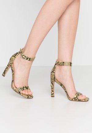 ARA - Højhælede sandaletter / Højhælede sandaler - yellow