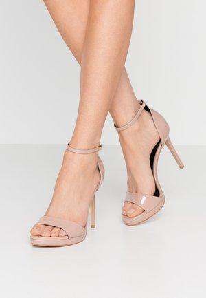 FLASHYY - Sandalen met hoge hak - fawn