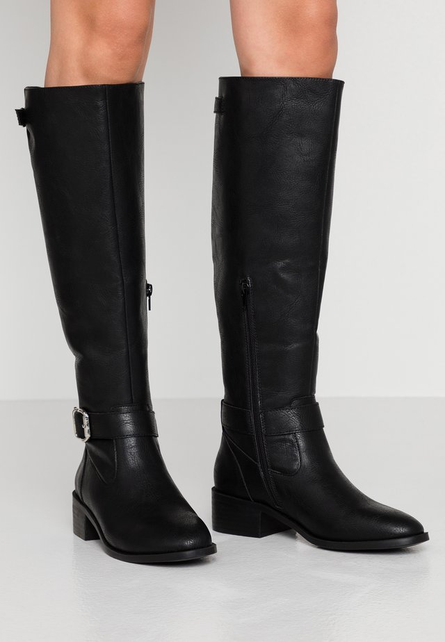 ZESTLYN - Cowboy/Biker boots - black paris