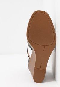 Madden Girl - GARLAND - Højhælede sandaletter / Højhælede sandaler - black paris - 6