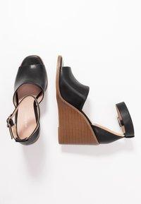 Madden Girl - GARLAND - Højhælede sandaletter / Højhælede sandaler - black paris - 3