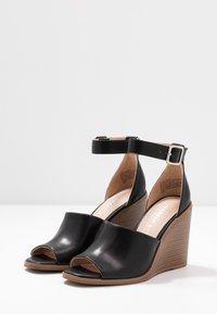 Madden Girl - GARLAND - Højhælede sandaletter / Højhælede sandaler - black paris - 4