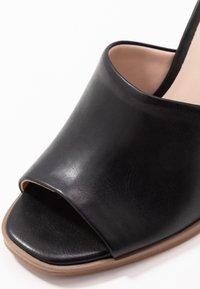 Madden Girl - GARLAND - Højhælede sandaletter / Højhælede sandaler - black paris - 2