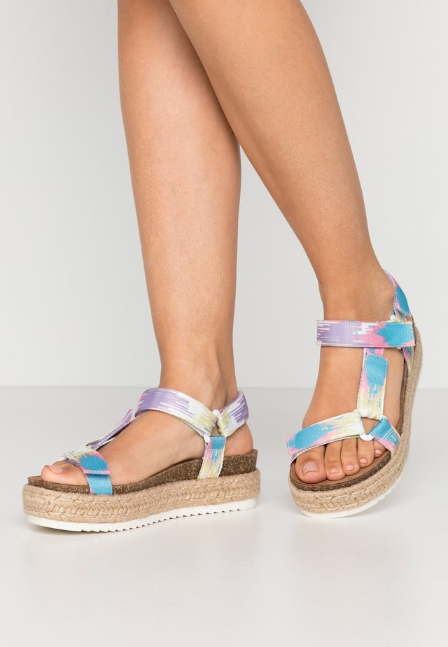 CAMBRIDGE - Espadrilles - pastel/multicolor