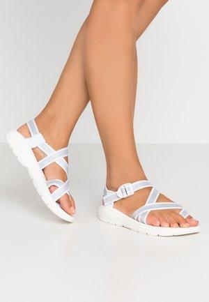 SUN - T-bar sandals - white
