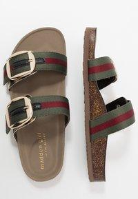 Madden Girl - BAMBAM - Pantofle - olive/burgundy - 3