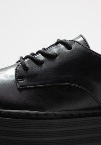 Madden Girl - MINTY - Šněrovací boty - black - 2