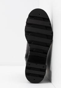 Madden Girl - DILLIAN - Šněrovací kotníkové boty - black paris - 6