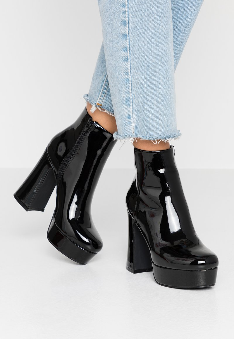 Madden Girl - High heeled ankle boots - black