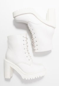 Madden Girl - ARCHIEE - High heeled ankle boots - white - 3
