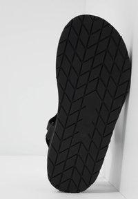 maje - FRANKIE STRASS - Platform sandals - noir - 6