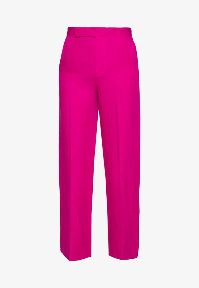 POSIA - Spodnie materiałowe - fuchsia