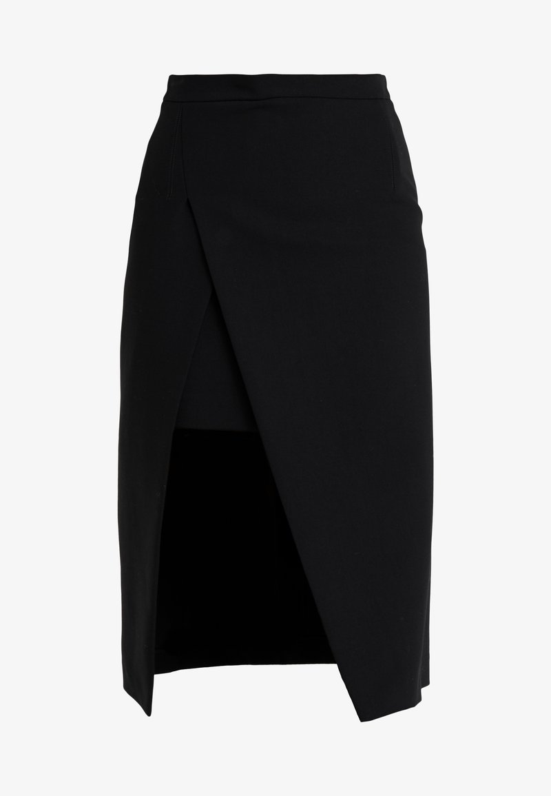 maje - JEANNE - Pennkjol - noir