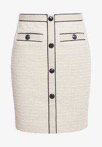maje - JOPPY - Pencil skirt - ecru - 0
