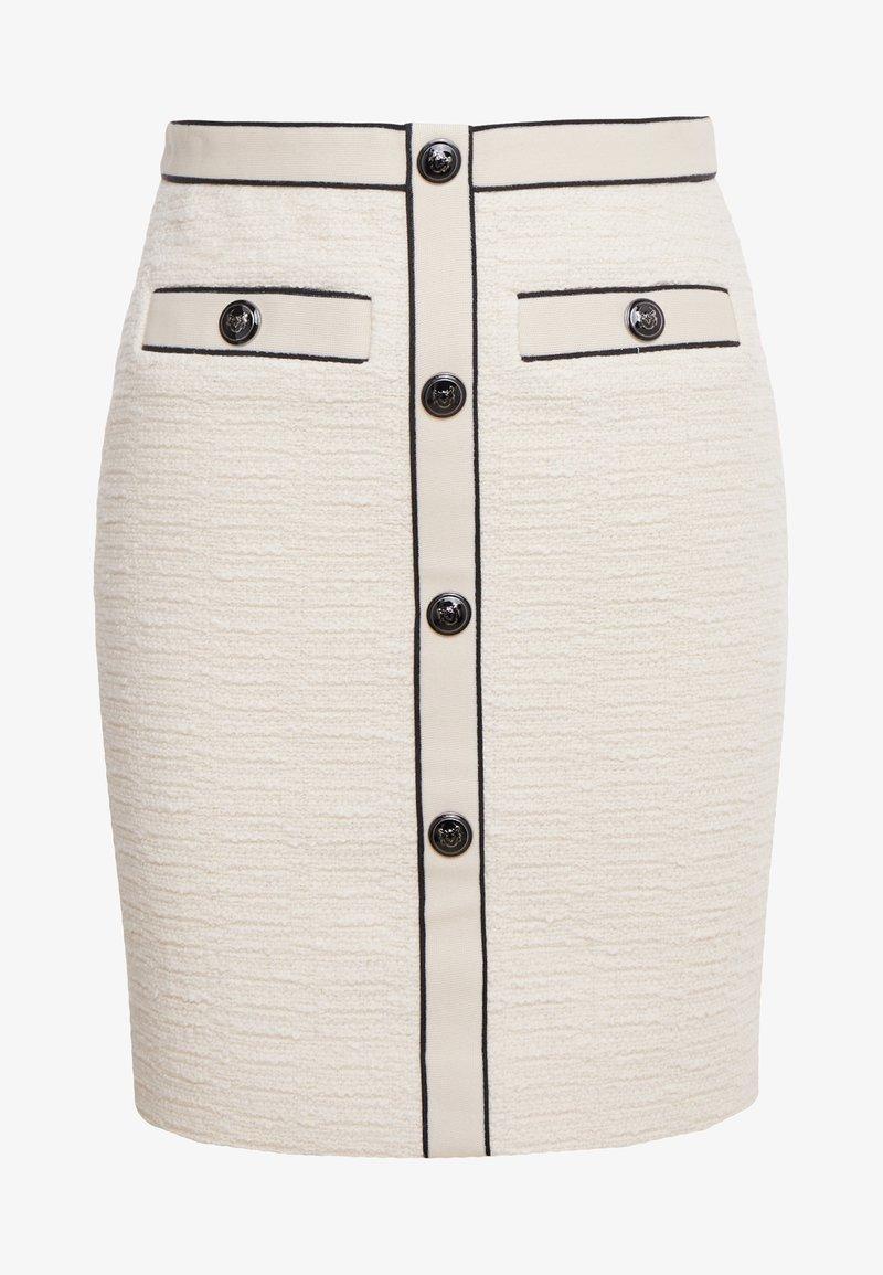 maje - JOPPY - Pencil skirt - ecru