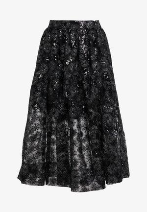 JIZIA - A-line skirt - noir