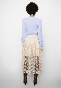 maje - JIZIO - A-line skirt - beige - 2