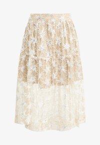 maje - JIZIO - A-line skirt - beige - 3