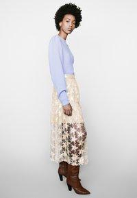 maje - JIZIO - A-line skirt - beige - 1