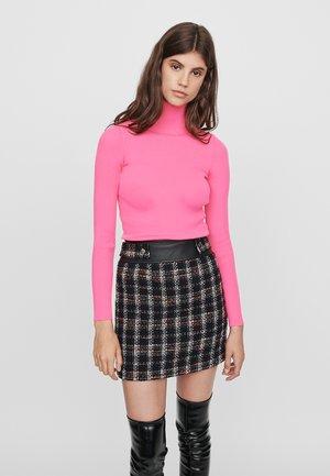 JISIDO - Mini skirt - noir