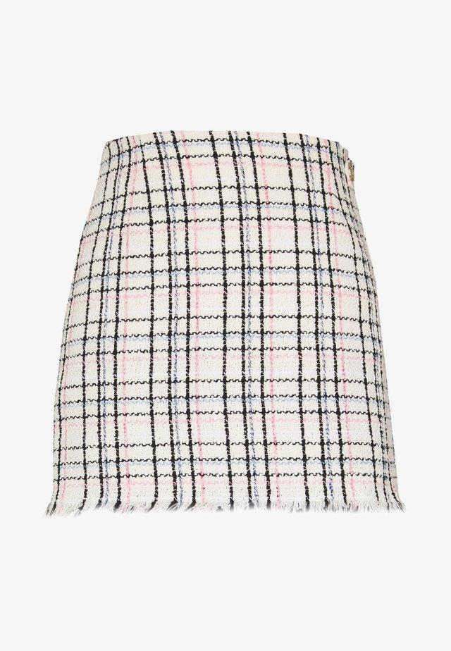 JIANEY - Mini skirt - ecru