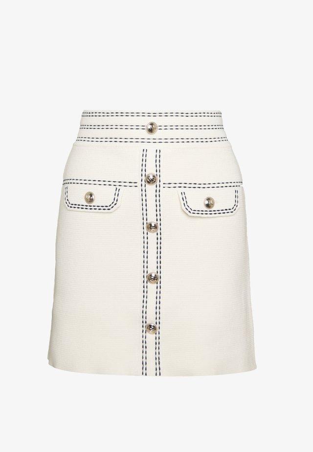 JISLA - Mini skirt - ecru
