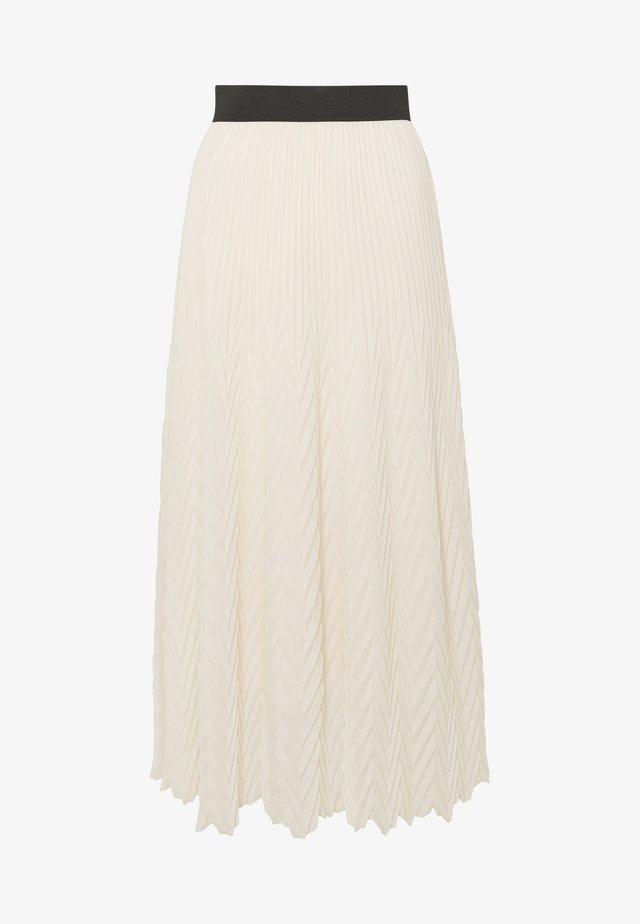 JISSANE - A-line skirt - nude