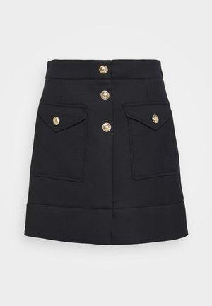 JANAO - Mini skirts  - marine