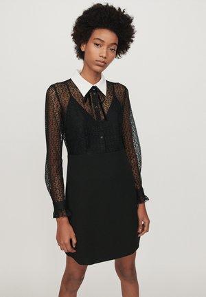 RAMONI - Skjortklänning - noir
