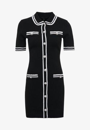 RAVELA - Jumper dress - noir
