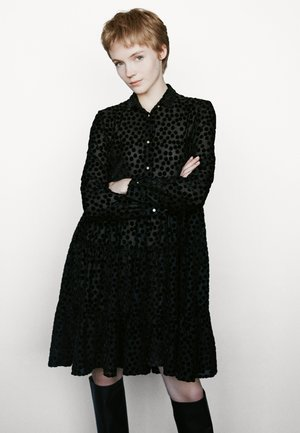 ROLLY - Skjortklänning - noir